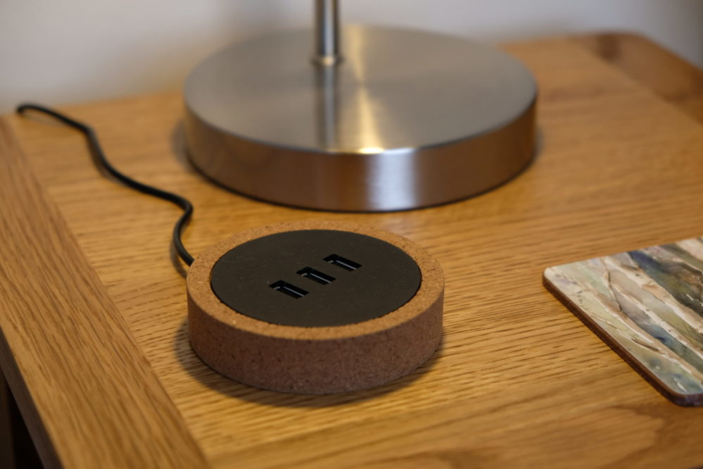 USB charging point available in all the bedrooms