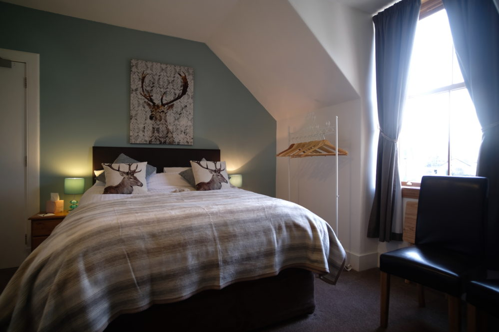 Lovely view of the Glen Affric Bedroom at Morlea B&B Loch Ness