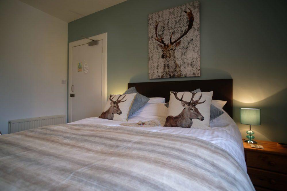 View of the Glen Coe Bedroom at Morlea B&B Loch Ness