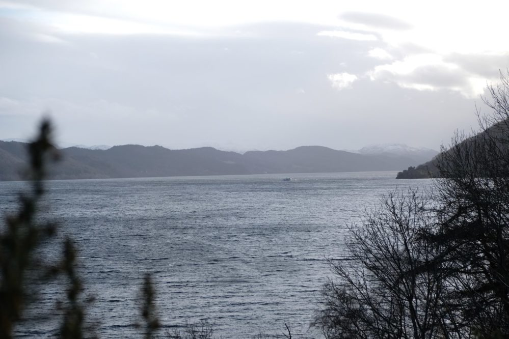 View of Loch Ness from the A82 between Inverness and Drumnadrochit