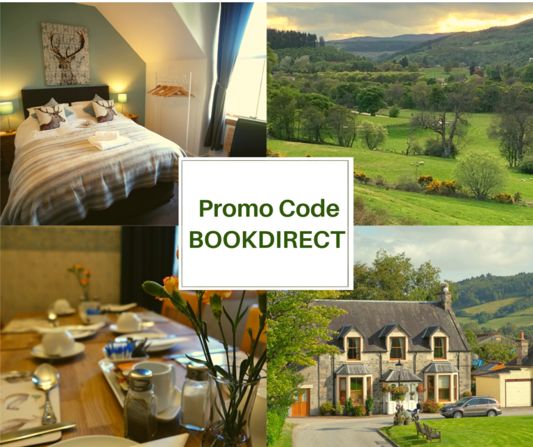 Pictures of Morlea B&B and the book direct promo code