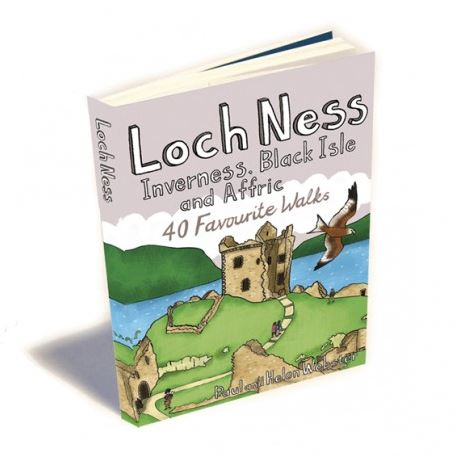 Front cover of Loch Ness 40 favourite walks